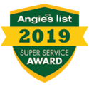 angieslist 2019 super service award shield